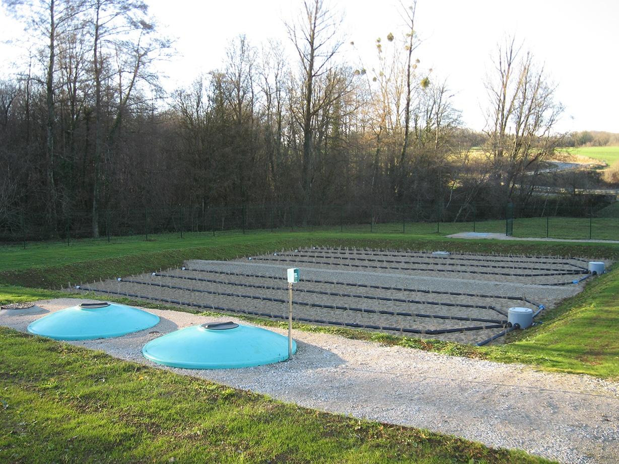 Communauté de communes Jura Nord - Station de traitement des eaux usées de Gendrey