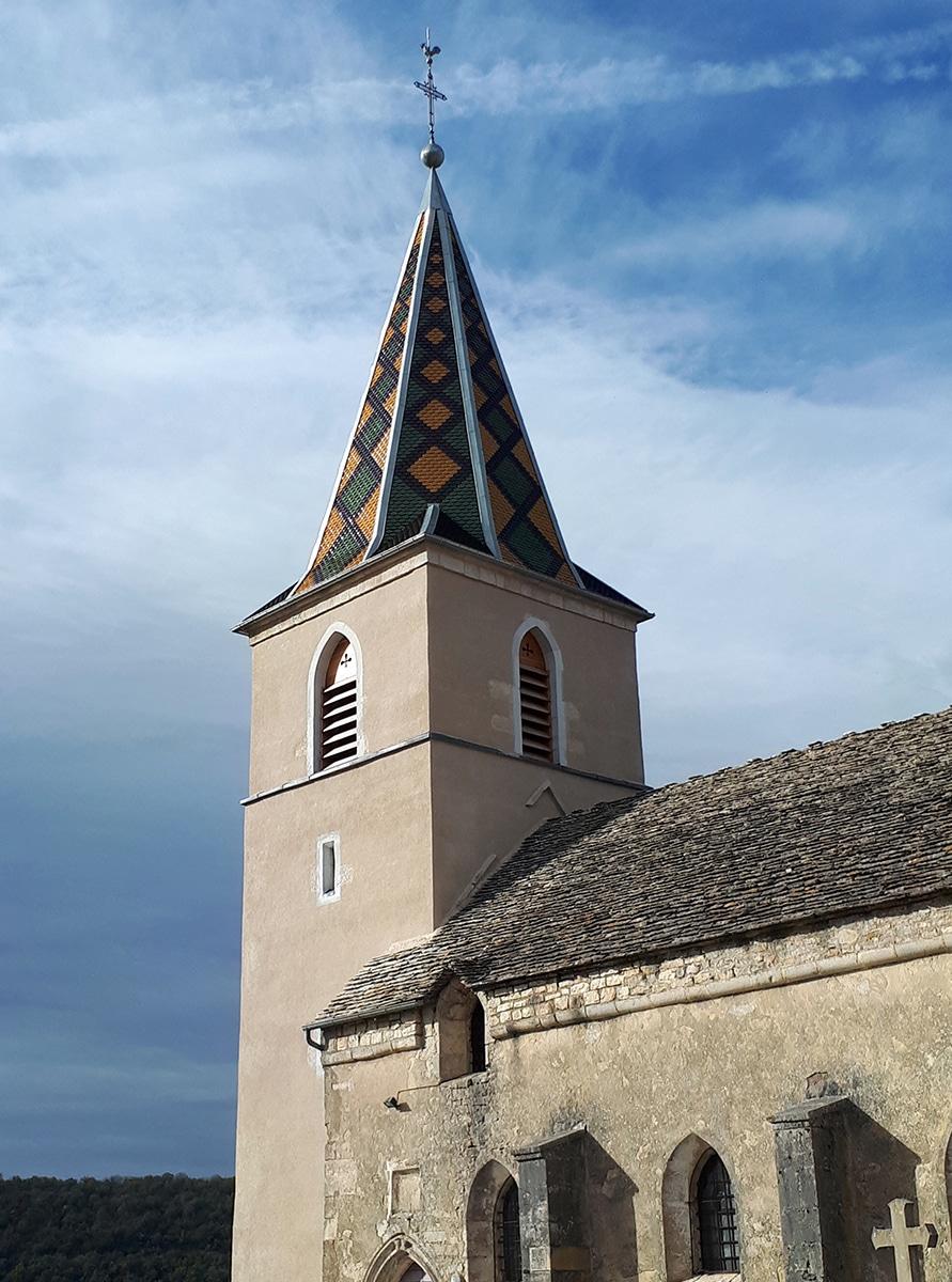 La tour du Meix renovation église