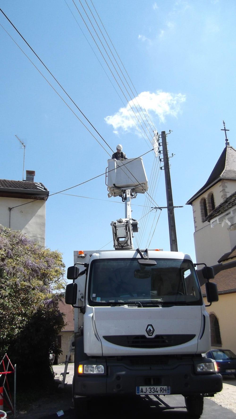 Nacelle électricité Vincelles